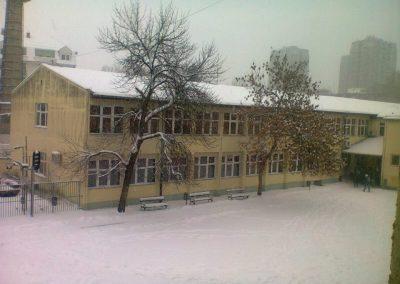 Zimska idila u školskom dvorištu