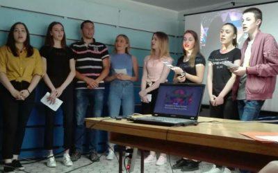 """Ђаци с гостима из Русије обележили Дан победе у школи """"Пинки"""""""