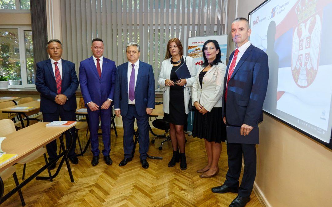 Руске железнице опремиле и реновирале кабинет руског језика