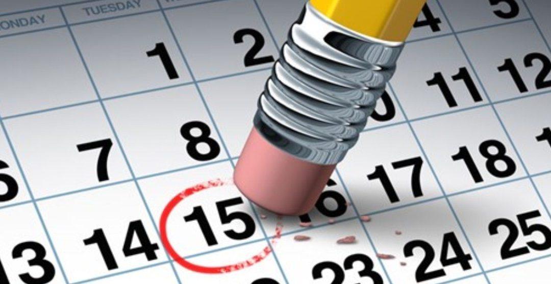 Календар рада – април 2021.год.